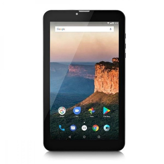 Tablet Multilaser M9 3g 1gb 8gb 9 Pol. Dual Chip Preto Nb247