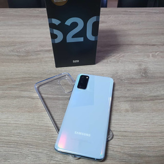 Celular Samsung S20 - Cloud Blu - Nf E Garantia Até Jun/21
