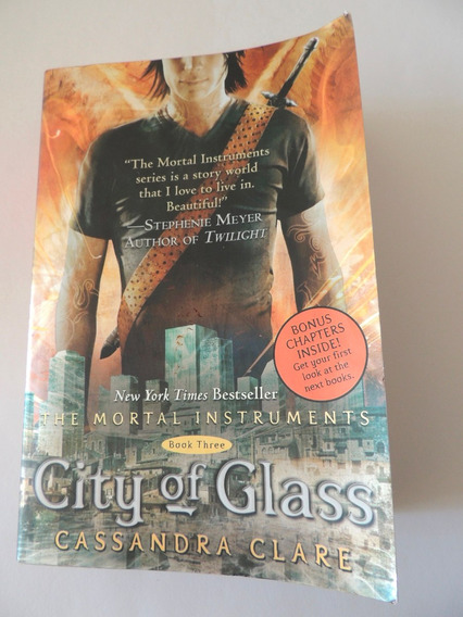 The Mortal Instruments 3 City Of Glass Cassandra Clare