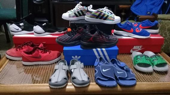 Zapatillas Nike adidas Para Niños Lote Completo