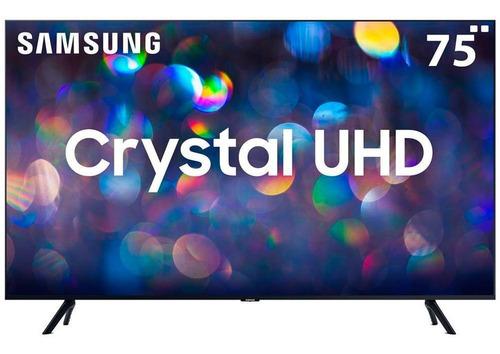 Imagem 1 de 6 de Smart Tv Led Samsung 75  Tu8000, Crystal Uhd Hdmi Usb
