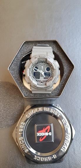 Relógio Casio G-shock Ga100c - 8a Original, Novo