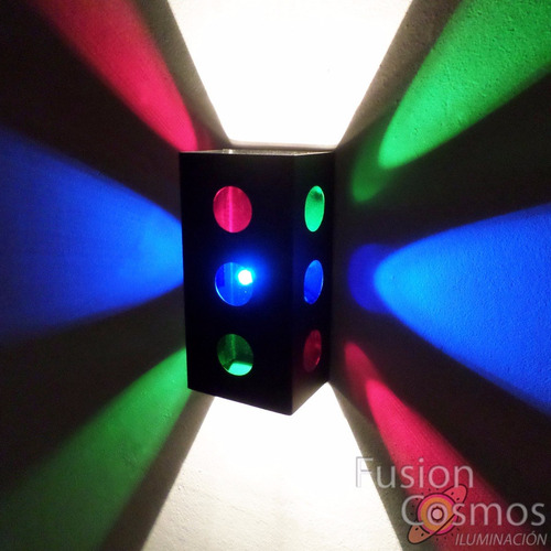 Imagen 1 de 6 de Kit X 3 Luces De Navidad Para Pared Luz Multicolor Fiesta