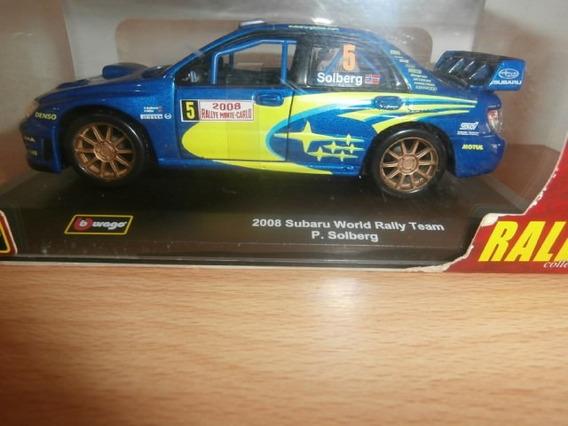 Subaru World Rally Team (p. Solberg) 2008 Burago Escala:1:32