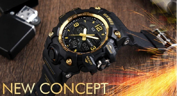 Relógio Skmei Modelo 1155 Masculino Sport Frete Grátis