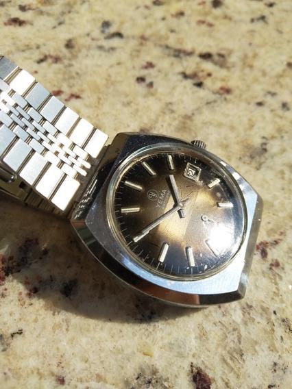 Luxuoso Relógio Yema Francês Mecânico Muito Raro