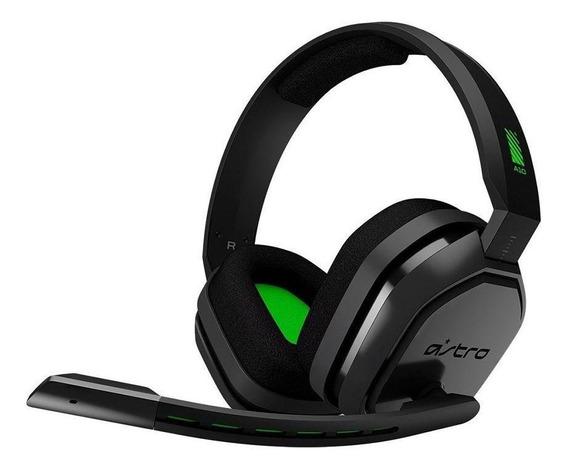 Headset Gamer Astro A10 Preto Verde Com Fio Multiplataforma