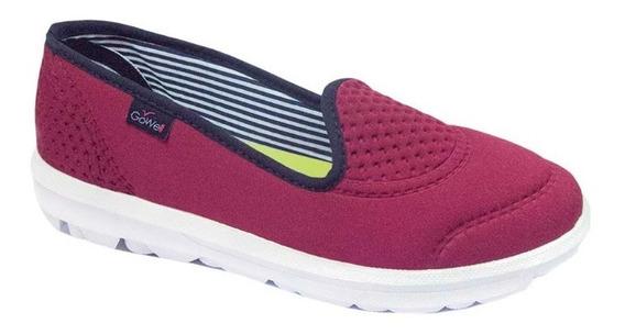 Zapatillas Panchas Mujer Cómodas Gowell 2004 Colores