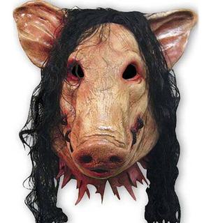 Máscara Látex Realista - Fantasia Carnaval Halloween Cosplay