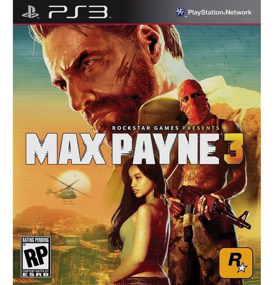Max Payne 3 Para Ps3