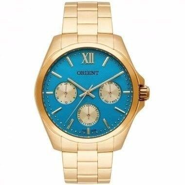 Relógio Orient Feminino Fgssm050 A3kx Dourado Original Nf