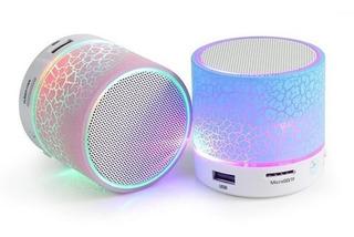 Parlante Bluetooth Mini Ch-121 Con Luces Sd Usb Llamadas