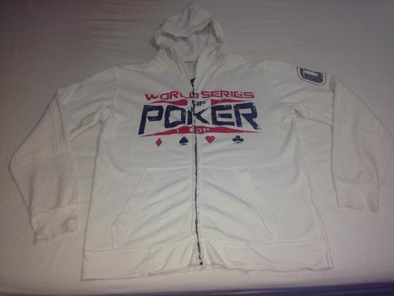 Casaco World Series Of Poker Affliction Xl Pouco Usado R$148