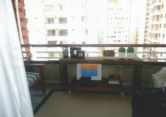 Apartamento No Brooklin Facil Acesso As Av. Sto Amaro, Marginal Pinheiros E Bandeirantes - Sf27594