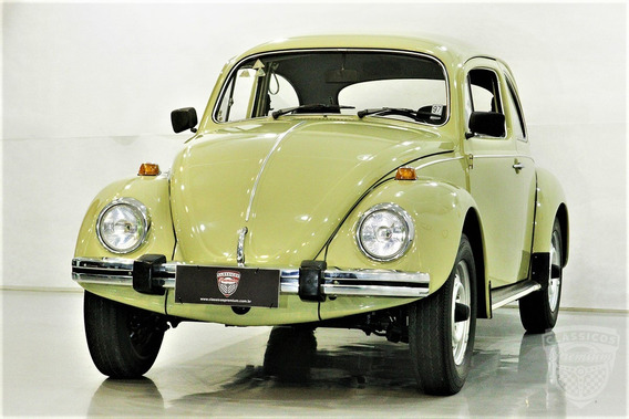 Vw Fusca 1300 L - 1980 80 - 43.000 Km - Original - Gasolina