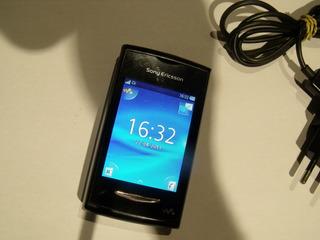 Celular Sony Yendo W150i 5mb 2mp 2.2 Mp3 Fm Preto