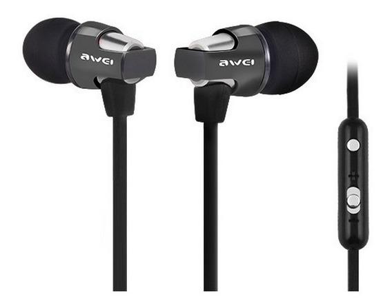 Headphone Fone De Ouvido Intra-auricular Awei Es800hi