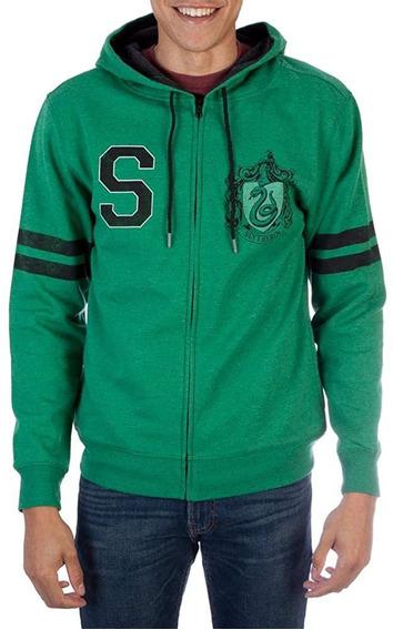 Harry Potter Mens House Varsity Zip Up Hoodie