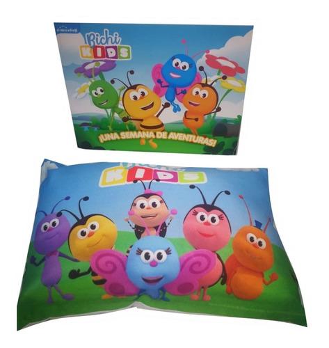 Imagen 1 de 5 de Bichi Kids Reino Infantil Libro + Almohada Varias Ediciones