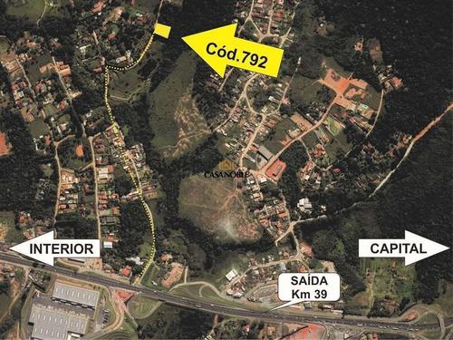 Terreno Em Chácara Recanto Verde, Cotia/sp De 0m² À Venda Por R$ 250.000,00 - Te866766