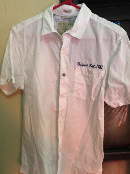 Camisa Marca Guess Original Xs Slim Fit
