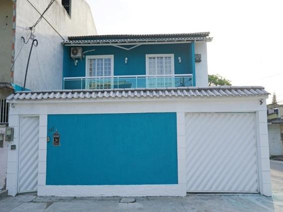 Posse/nova Iguaçu, Casa 3 Quartos,quintal Amplo Com Churrasqueira E Garagem. - Ca00587 - 33673046