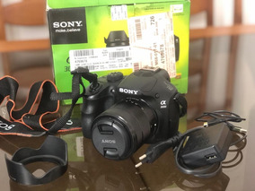 Camera Sony Alpha 3000 Maquina Semi Profissional