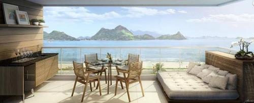 Apartamento Com 2 Quartos À Venda, 59 M² Por R$ 749.000 - São Francisco - Niterói/rj - Ap47389