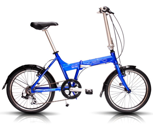 Bicicleta Plegable Vairo Mint Folding R20 7v Cambio Shimano