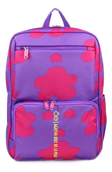Backpack Cloe Agatha Ruiz De La Prada Estampado De Corazones