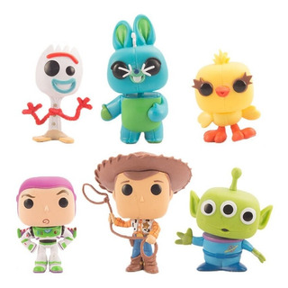 Funko Pop Toy Story 4 Forky Woody Buzz Lightyear Disney