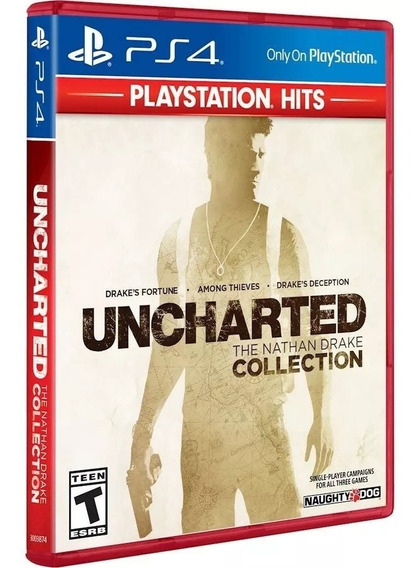 Jogo Uncharted The Nathan Drake Collection Playstation Ps4