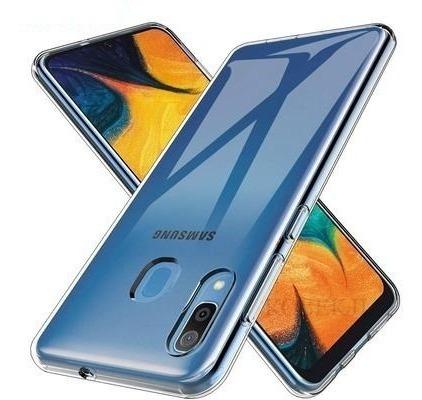 Samsung A20 A30 - Protector Rigido Slim Case Con Glass 9h