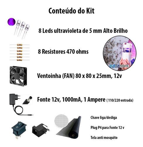 Imagem 1 de 8 de Kit Armadilha De Pernilongo Tipo Manual Do Mundo Pega Muito