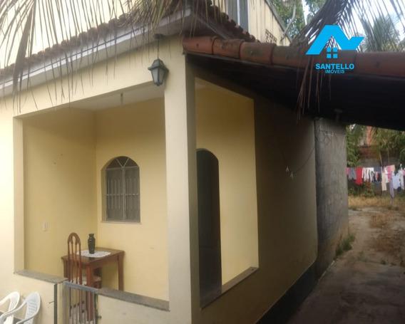 Ampla Casa Com Quintal E Varanda 90m2 Área Construída E 360m2 De Terreno - Apenas 77mil - Ca00096 - 34106255
