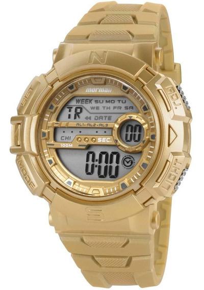 Relógio Masculino Digital Mormaii Mo1069apa/8y - Dourado
