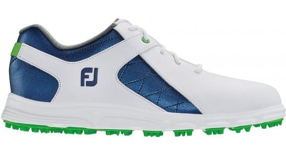 Golflab Zapatillas Footjoy Junior 23 Cm De Plantilla