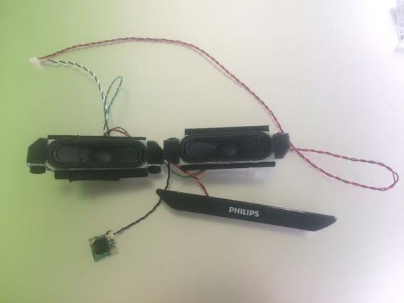 Falantes + Placa Sensor Tv Philips 43pfg5000/78