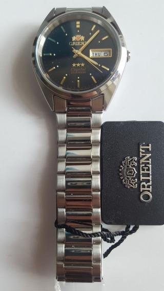 Relógio Orient Automatico Classico Aço Masculino Variascores