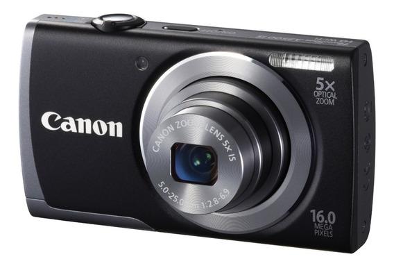 Câmera Canon A3500 Is Nova Na Caixa + Nota Fiscal