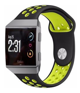 Malla Silicona Para Fitbit Ionic Deportiva Colores