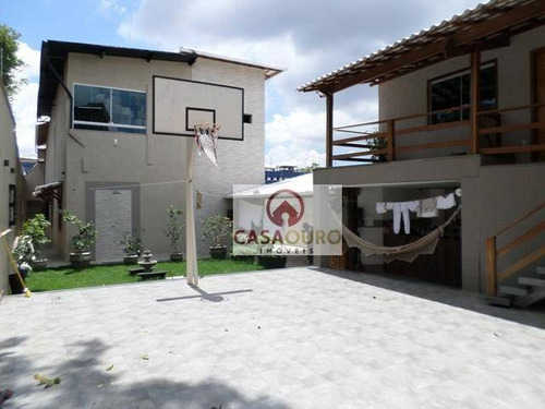 Casa Com 6 Quartos À Venda, 522 M² Por R$ 1.600.000 - Caiçaras - Belo Horizonte/mg - Ca0114