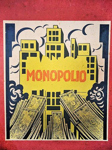 Imagem 1 de 2 de Arte Do Dinheiro Monopólio Antigo 1965 (monopoly) Banco Imob