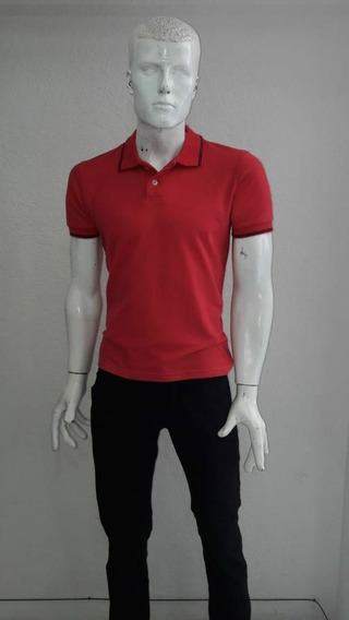 Playera Polo Roja
