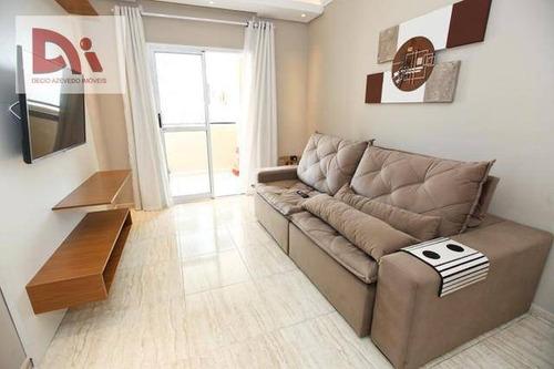 Apartamento Com 2 Dormitórios À Venda, 68 M² Por R$ 215.000,00 - Parque Senhor Do Bonfim - Taubaté/sp - Ap0274