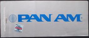 C0519 Raro Bilhete Aéreo Pan Am São Paulo - Miami - São Pau