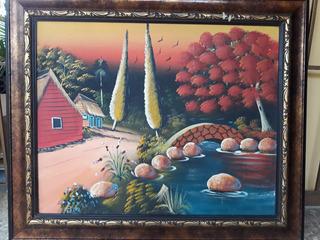 Cuadro Pared Grande - Pintura Tradicional Campesina