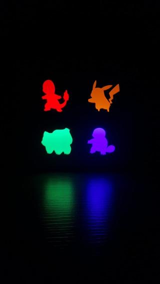 Luminária Abajaur Lanterna Led - Pokémons