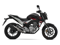 Honda Cb250 Twister Negra 2018 0km