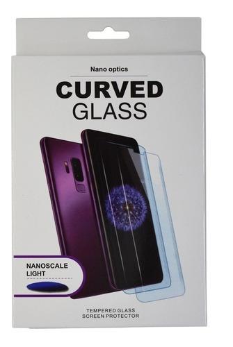 Imagen 1 de 1 de Mica Cristal Templado Uv Glass Note 10 Plus Lite Nano Optics